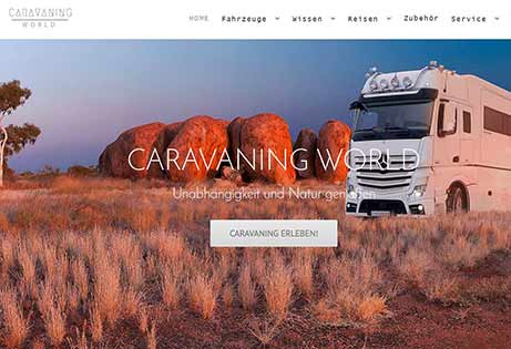 JoeWP - Sale Web Project Caravaning World