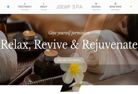 JoeWP Shop - Sale Website Hotel & Spa