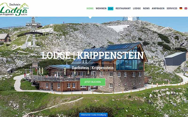 JoeWP Referenzen Lodge Krippenstein