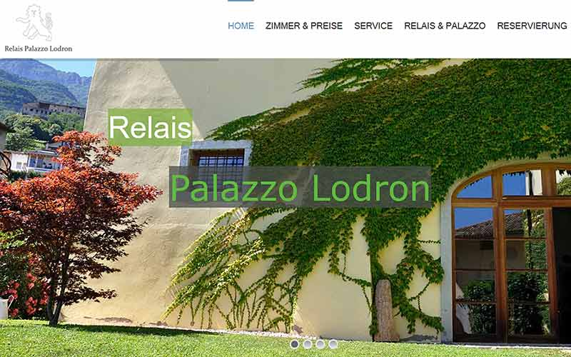 JoeWP Referenzen - Palazzo Lodron