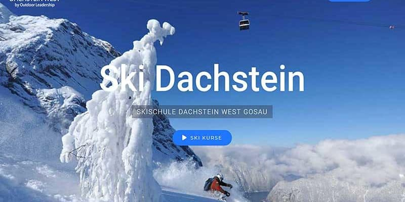 JoeWP WordPress Agentur - Referenz Ski Dachstein West