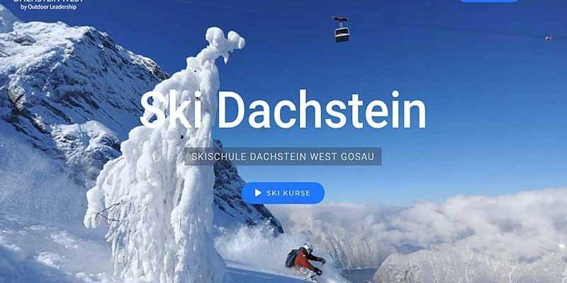 JoeWP WordPress Agency - Reference Ski Dachstein West