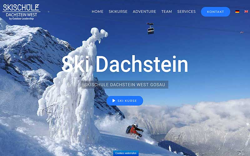 JoeWP Referenz Ski Dachstein West