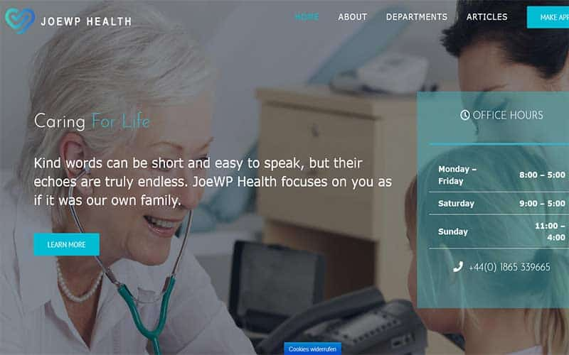 JoeWP WordPress Agency - Website Health