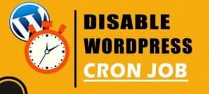 JoeWP WordPress Agentur - Cron Jobs