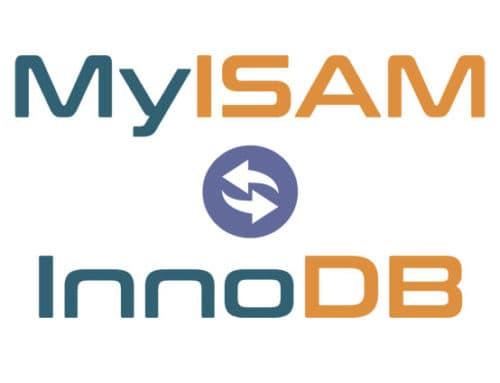 Konvertierung MyISAM zu InnoDB