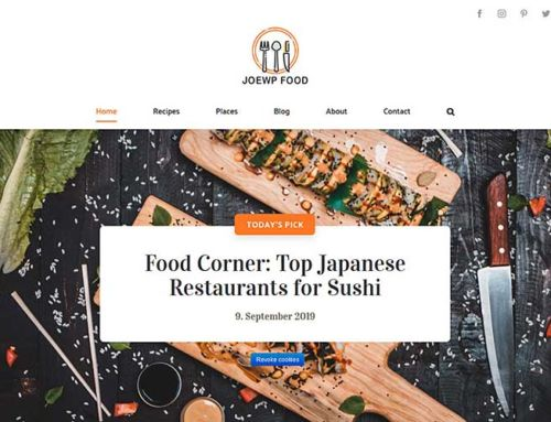 Website Food