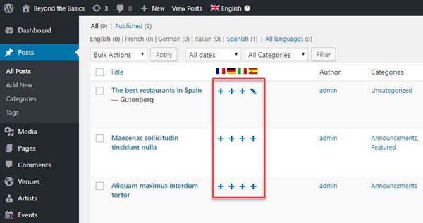 JoewP WordPress Agency - WPML Add Translation