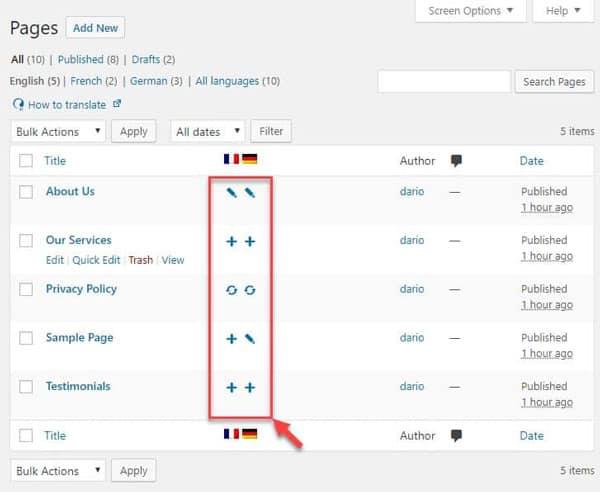 JoeWP WordPress Agency - multilingual website with WPML