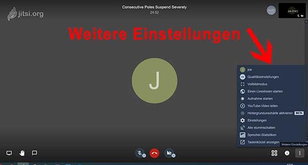 JoeWP WP Agency - Jitsi Meeting Settings