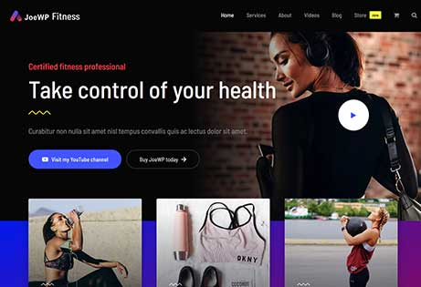 JoeWP - WordPress Agentur - Website Fitness