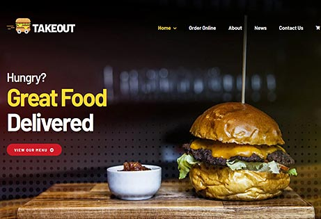 JoeWP WP Agency - Takeout Website