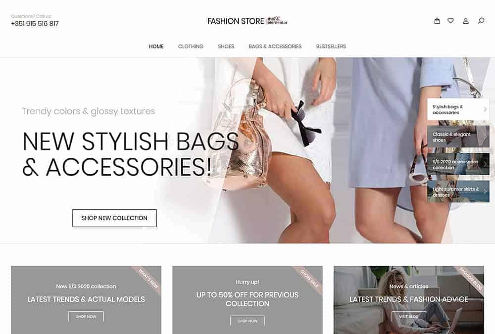 JoeWP WooCommerce Agentur - Verkauf Fashion Store