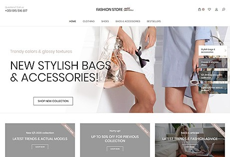 JoeWP WooCommerce Agentur - Fashion Store