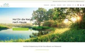 JoeWP WordPress Agency - Reference Website Relaxound