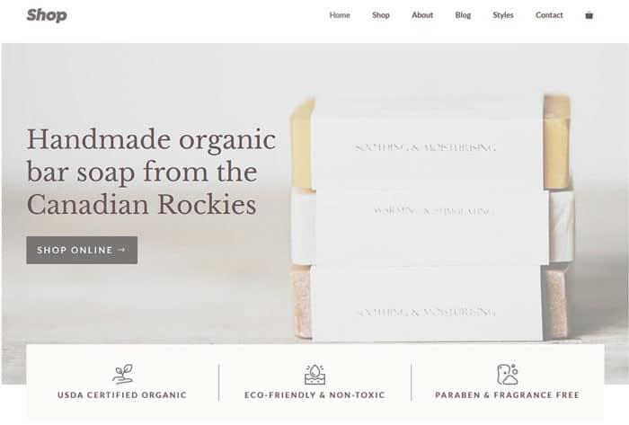 JoeWP WooCommerce und WordPress Agency - Webprojekt Simple Shop