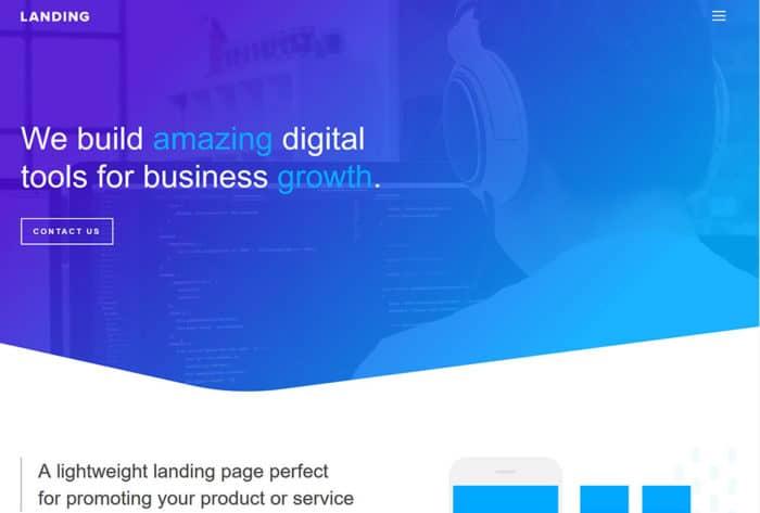 JoeWP WordPress Agentur - Landingpage Website